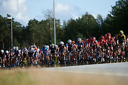 Ruth Winder (USA) and Letizia Paternoster (ITA) in the bunch during Ladies Tour of Norway 2019 - Stage 2, a 131 km road race from Mysen to Askim, Norway on August 23, 2019. Photo by Sean Robinson/velofocus.com