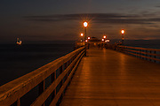 Seal Beach Pier at Night