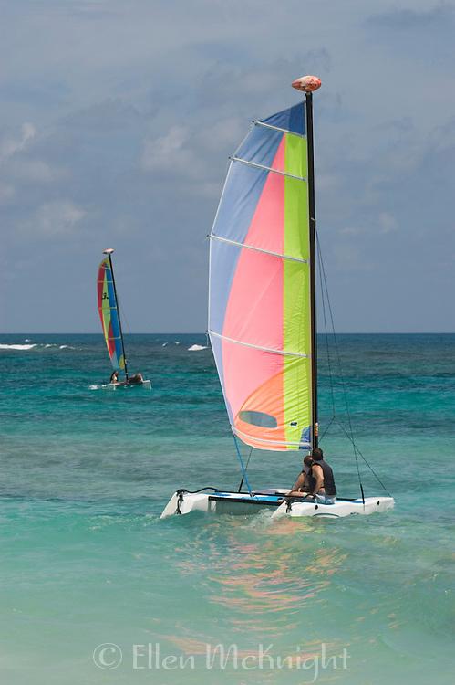 Sailing a Catamaran in Punta Cana