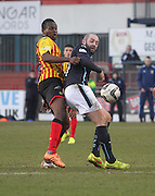 Dundee's Gary Harkins and Partick Thistle's Abdul Osman- Dundee v Partick Thistle, SPFL Premiership at Dens Park<br /> <br />  - &copy; David Young - www.davidyoungphoto.co.uk - email: davidyoungphoto@gmail.com