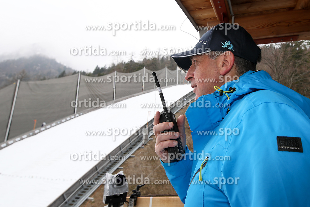 Jelko Gros during first test of Ski jumping Flying Hill 1 day before FIS World Cup Ski Jumping Final, on March 22, 2017 in Planica, Slovenia. Photo by Matic Klansek Velej / Sportida