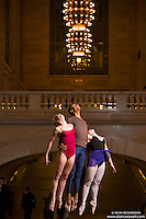 Grand Central Station Dance As Art New York City Photography featuring Erika Citrin, Daniel White and Maddison Dawson.