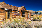 The Murphy House and the Standard Stamp Mill, Bodie State Historic Park, California USA