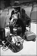 Berlin, DEU, 20.11.1994: Jazz Music , Dixon, Bill, HdKdW, JazzFest 94, Berlin, 20.11.1994 ( Keywords: Musiker ; Musician ; Musik ; Music ; Jazz ; Jazz ; Kultur ; Culture ) ,  [ Photo-copyright: Detlev Schilke, Postfach 350802, 10217 Berlin, Germany, Mobile: +49 170 3110119, photo@detschilke.de, www.detschilke.de - Jegliche Nutzung nur gegen Honorar nach MFM, Urhebernachweis nach Par. 13 UrhG und Belegexemplare. Only editorial use, advertising after agreement! Eventuell notwendige Einholung von Rechten Dritter wird nicht zugesichert, falls nicht anders vermerkt. No Model Release! No Property Release! AGB/TERMS: http://www.detschilke.de/terms.html ]