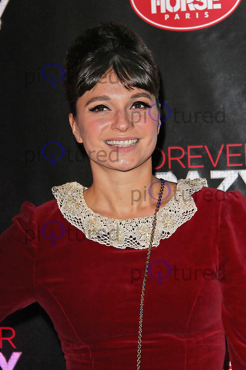 LONDON - SEPTEMBER 19: Gizzi Erskine attended the premiere of 'Crazy Horse Presents Forever Crazy' at The Crazy Horse, London, UK. September 19, 2012. (Photo by Richard Goldschmidt)