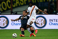 Gervinho Roma, Fredy Guarin Inter<br /> Milano 25-04-2015 Stadio Giuseppe Meazza - Football Calcio Serie A Inter - Roma. Foto Giuseppe Celeste / Insidefoto
