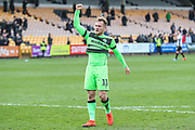 Forest Green Rovers George Williams(11) during the EFL Sky Bet League 2 match between Port Vale and Forest Green Rovers at Vale Park, Burslem, England on 23 March 2019.