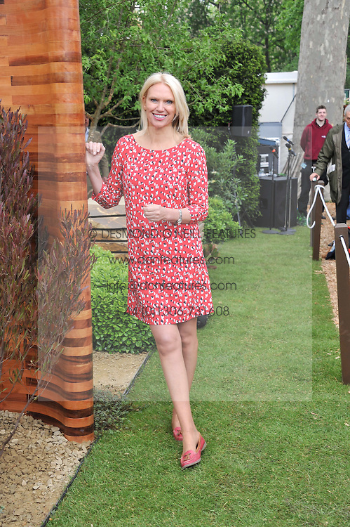 ANNEKA RICE at the 2012 RHS Chelsea Flower Show held at Royal Hospital Chelsea, London on 21st May 2012.
