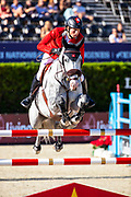 Martin Fuchs - Silver Shine<br /> FEI Jumping Nations Cup Final 2019<br /> © DigiShots