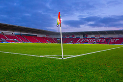 A general view of Doncaster Rovers' The Keepmoat Stadium - Mandatory by-line: Ryan Crockett/JMP - 03/12/2017 - FOOTBALL - The Keepmoat Stadium - Doncaster, England - Doncaster Rovers v Scunthorpe United - Emirates FA Cup second round