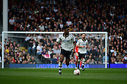 Fulham Defender Luke Garbutt (3) during the Sky Bet Championship match between Fulham and Milton Keynes Dons at Craven Cottage, London, England on 2 April 2016. Photo by Jon Bromley.