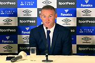 Wayne Rooney Press Conference - 10 July 2017