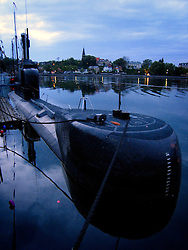 GERMANY SCHLESWIG-HOLSTEIN ECKERNFOERDE 21MAY06 - German submarine in port of Eckernfoerde...jre/Photo by Jiri Rezac....© Jiri Rezac 2006