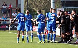 Marcus Maddison of Peterborough United celebrates scoring his goal - Mandatory by-line: Joe Dent/JMP - 19/04/2019 - FOOTBALL - Highbury Stadium - Fleetwood, England - Fleetwood Town v Peterborough United - Sky Bet League One