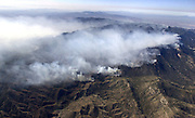 The Aspen Fire burns tens of thousands of acres in the Santa Catalina Mountains of the Coronado National Forest on Mount Lemmon north of Tucson, Arizona, USA.