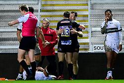 James Short of Exeter Braves and Tom Wyatt of Exeter Braves - Mandatory by-line: Ryan Hiscott/JMP - 20/01/2020 - RUGBY - Sandy Park - Exeter, England - Exeter Braves v London Irish - Premiership Rugby Shield
