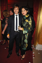 ANDY & PATTI WONG at a party to celebrate the launch of the 'Inde Mysterieuse' jewellery collection held at Lancaster House, London SW1 on 19th September 2007.<br /><br />NON EXCLUSIVE - WORLD RIGHTS