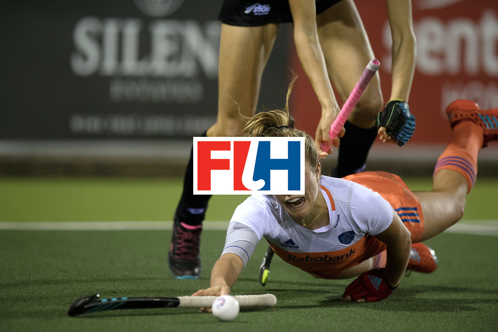 AUCKLAND - Sentinel Hockey World League final women<br /> Match id 10292<br /> 02 NED v NZL (Pool A)<br /> Foto:  Xan De Waard.<br /> WORLDSPORTPICS COPYRIGHT FRANK UIJLENBROEK