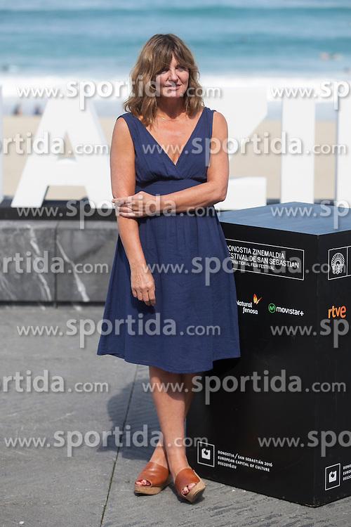 26.09.2015, Madrid, San Sebastian, ESP, San Sebastian International Film Festival, im Bild Actress Clare Burt poses during `London road&acute; film presentation // at 63rd Donostia Zinemaldia, San Sebastian International Film Festival in Madrid in San Sebastian, Spain on 2015/09/26. EXPA Pictures &copy; 2015, PhotoCredit: EXPA/ Alterphotos/ Victor Blanco<br /> <br /> *****ATTENTION - OUT of ESP, SUI*****