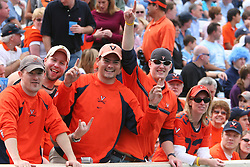 Virginia football fans who traveled to UNC.  The North Carolina Tar Heels defeated the Virginia Cavaliers 7-5 on October 22, 2005 in Chapel Hill, NC.