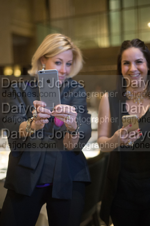 NADJA SWAROVSKI at the Whitechapel Gallery Art Icon 2015 Gala dinner supported by the Swarovski Foundation. The Banking Hall, Cornhill, London. 19 March 2015