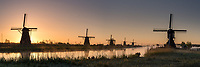 Windmühlen, Kinderdijk, Holland