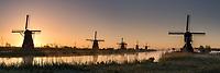 Windmühlen, Kinderdijk, Holland