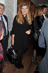 AMBER NUTTALL at the Linley Christmas Party held at Linley, 60 Pimlico Road, London on 16th November 2011.