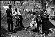 Meninos de rua o do Salvador is a project unfinished about the slavery children in Brasil living in the streets of Salvador de Bahia and in the countryide provicen of Bahia working in poor conditions, slavery system and picking up the Sisal. Thousands of this children ahd been exterminated in years ago by police and other gansg. The porject is unfinished and only once published in a small paper. I wish to follow with this work in the province of Bahia and other cities of Brasil.