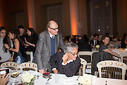 NICHOLAS LOGSDAIL; ANISH KAPOOR, Lisson Gallery dinner, Banqueting House. London. 15 October 2013