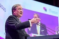 06 JAN 2020, KOELN/GERMANY:<br /> Armin Laschet, CDU, Ministerpraesident Nordrhein-Westfalen, haelt eine Rede, dbb Jahrestagung, Koeln Messe<br /> IMAGE: 20200106-01-234