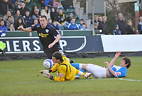 Photo: Tony Oudot/Richard Lane Photography. Bristol Rovers v Leicester City. Coca-Cola Football League One. 21/02/2009. <br /> Matty Fryatt of Leicester City goes close near the end of the match but the shot was saved off the line