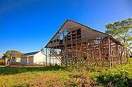 House and barn near Sabalo, Pinar del Rio, Cuba.