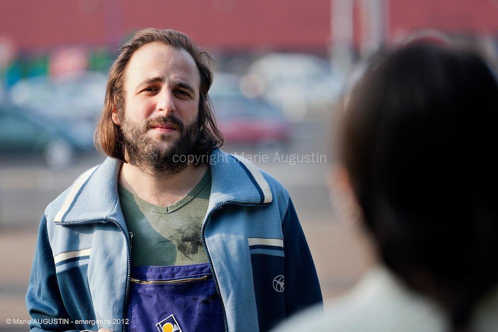 """Vincent MACAIGNE - tournage scène libre """"Les Philosophes"""" de Guihem AMESLAND - emergence 2012"""