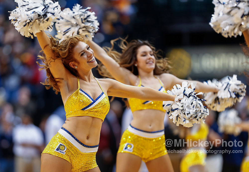 INDIANAPOLIS, IN - JANUARY 23: An Indiana Pacers Pacemate is seen during the game against the New York Knicks at Bankers Life Fieldhouse on January 23, 2017 in Indianapolis, Indiana. NOTE TO USER: User expressly acknowledges and agrees that, by downloading and/or using this photograph, user is consenting to the terms and conditions of the Getty Images License Agreement. Mandatory Copyright Notice: Copyright 2017 NBAE (Photo by Michael Hickey/Getty Images)