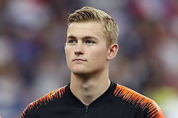 Matthijs de Ligt of Holland during the UEFA Nations League A group 1 qualifying match between France and The Netherlands on September 09, 2018 at Stade de France in Saint Denis,  France