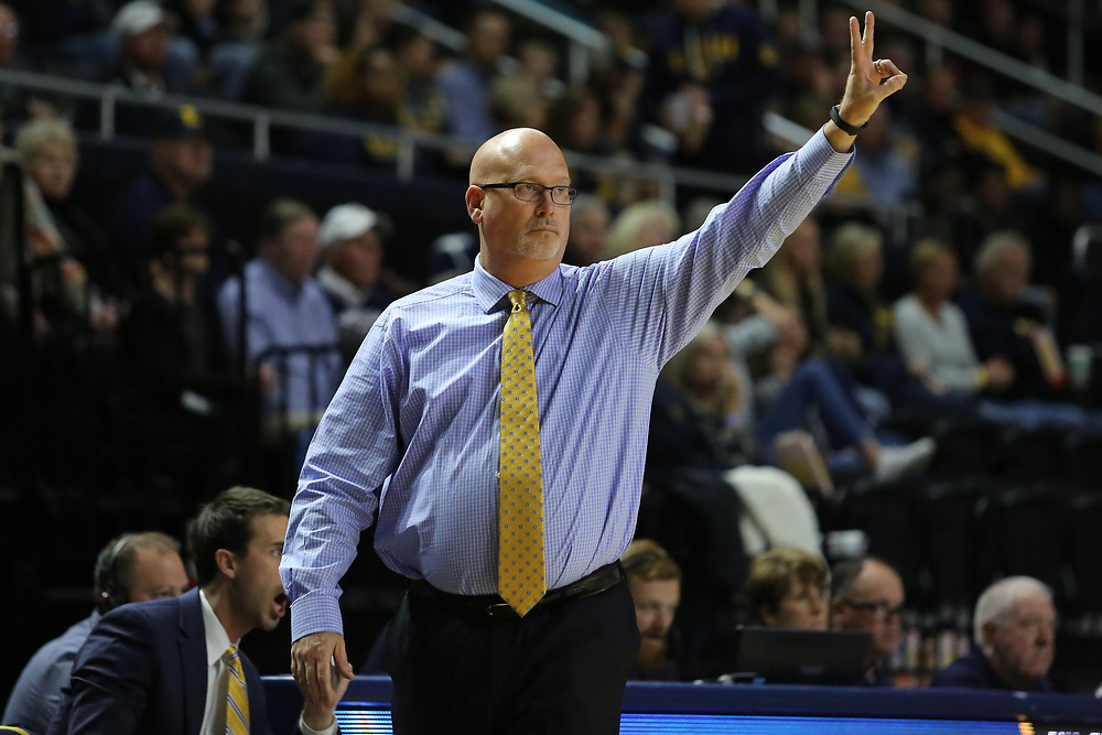November 22, 2017 - Johnson City, Tennessee - Freedom Hall: ETSU head coach Steve Forbes<br /> <br /> Image Credit: Dakota Hamilton/ETSU
