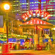 Pergola, Pike Place and Virginia, Pike Place Market, Seattle, Washington