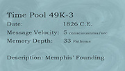 This label corresponds to well 2 in Gallery B, which is part of &quot;Time Pools: Accessing the Aquifer&quot;.<br />