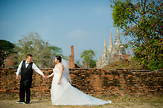 Ayutthaya & Mae Klong Pre-Wedding Photography: Yoko & Tor