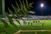 BOEKAREST - 19-08-15, Europa League, Astra GiurGiu - AZ, training, Stadionul Giulesti, overzicht.