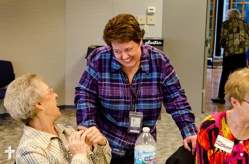Photographs from the annual Volunteer Luncheon at the International Center of The Lutheran Church–Missouri Synod in St. Louis on Wednesday, April 18, 2018. LCMS Communications/Frank Kohn