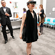 PNB Pointe To The Stars 2018 fundraiser and performance at the Living Computer Museum. Photo by Alabastro Photography.