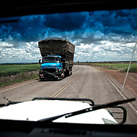 Destination: Brasilia, Brazil. Through the Windshield