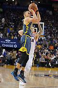 January 31, 2019; Oakland, CA, USA; Golden State Warriors guard Stephen Curry (30) shoots the basketball against the Philadelphia 76ers during the third quarter at Oracle Arena.
