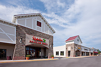 Exterior photo of Timonium Square Shopping Center renovated by Mullan Contracting Company