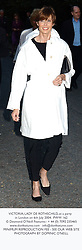 VICTORIA, LADY DE ROTHSCHILD, at a party in London on 6th July 2004.  PWW 162