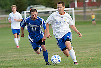 Boys varsity soccer Gilford versus Winnisquam September 14, 2010.