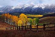 Autumn on Ohio Pass near Crested Butte, Colorado.