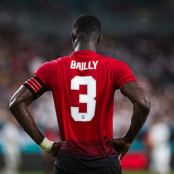 July 31, 2018 - Miami Gardens, Florida, USA - Manchester United F.C. defender Eric Bailly (3) during an International Champions Cup match between Real Madrid C.F. and Manchester United F.C. at the Hard Rock Stadium in Miami Gardens, Florida. Manchester United F.C. won the game 2-1. (Credit Image: © Mario Houben via ZUMA Wire)